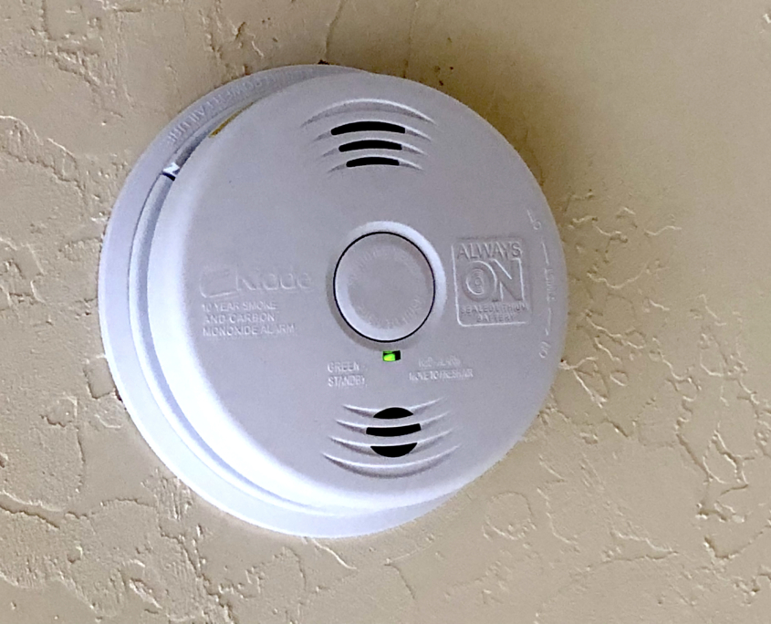 Combination Smoke and Carbon Monoxide Alarm